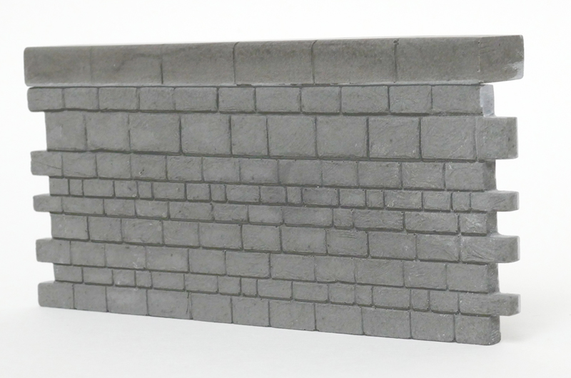 O Gauge stone harbour wall section